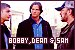 Supernatural: Dean, Sam Winchester and Bobby Singer