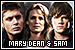 Supernatural: Mary, Dean and Sam Winchester